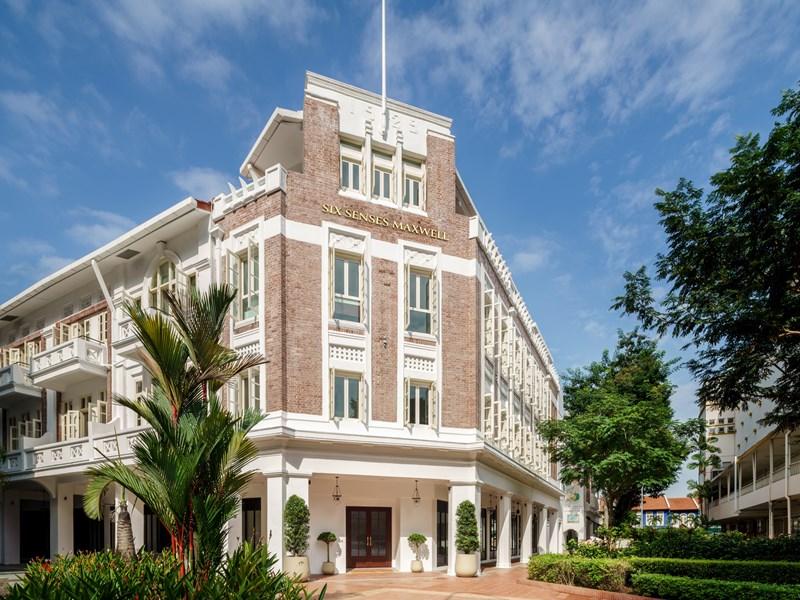 Situé au coeur de Singapour, Le Six Senses Maxwell est un havre de délicatesse et de luxe