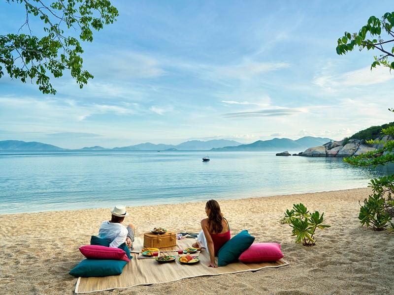 Pique-nique sur la plage