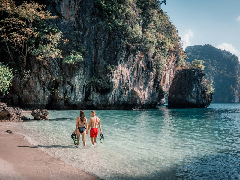 Découvrez les quatre îles populaires de Krabi