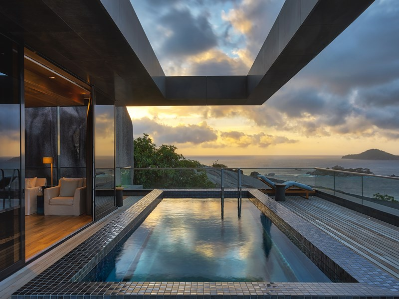 Private Four-Bedroom Residence