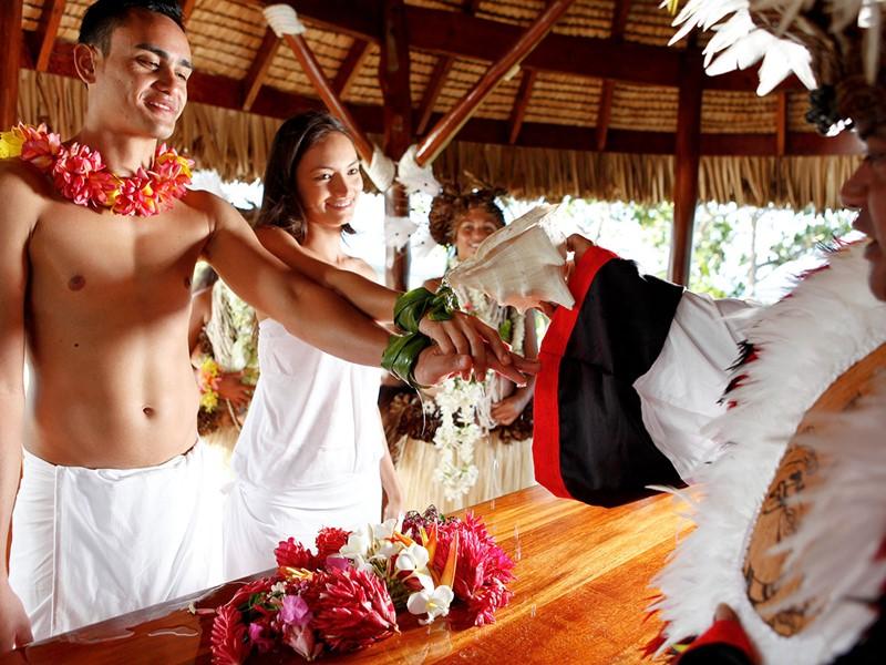 Echangez vos voeux dans un cadre unique au Sofitel Bora Bora