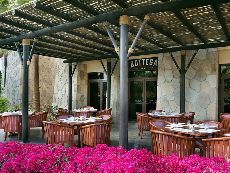 Le restaurant Bottega du Sofitel Palm Resort