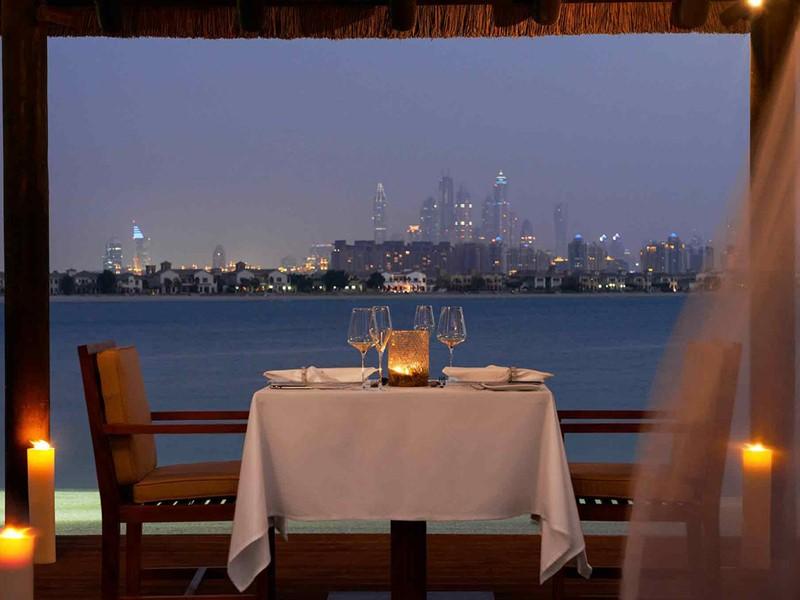 Dîner romantique à l'hôtel Sofitel Palm Resort