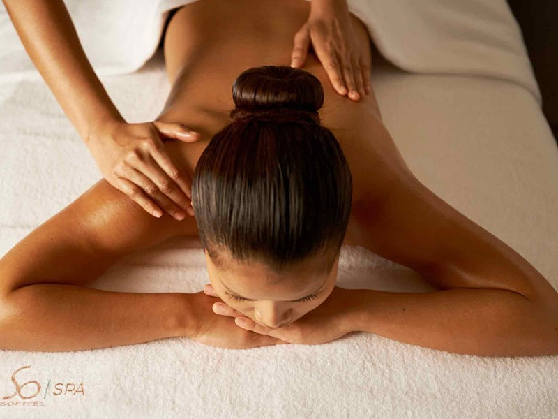 Massage au spa du Sofitel Palm Resort à Dubaï