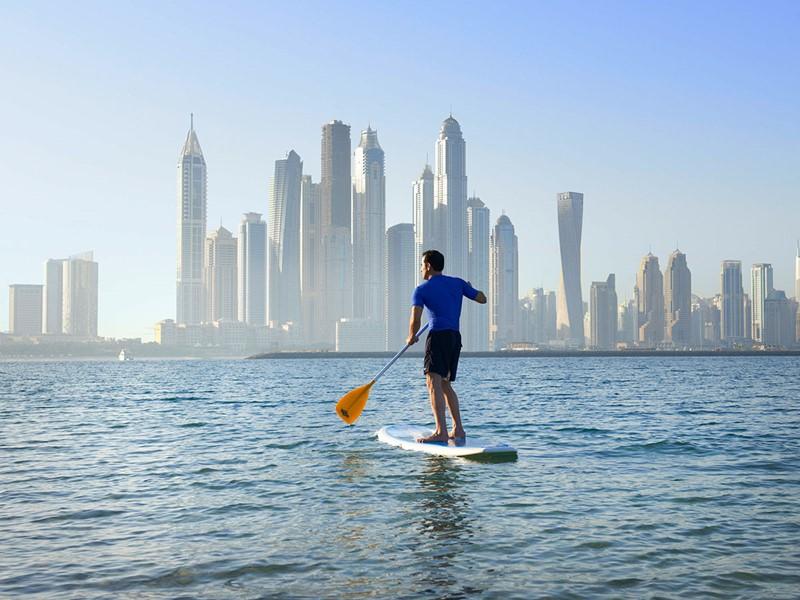 Activité nautique du Sofitel Palm Resort à Dubaï