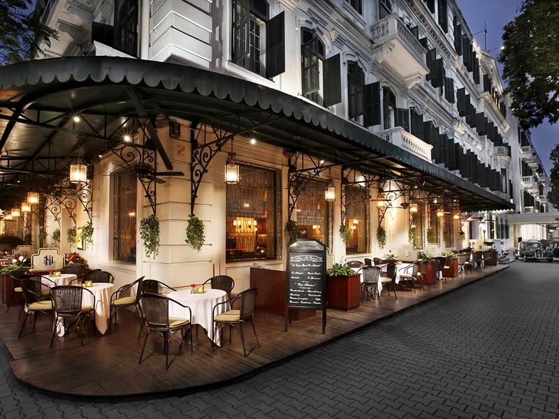 Le bar La Terrasse du Metropole du Sofitel Legend Metropole