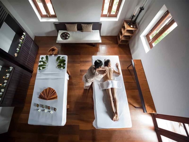 Le spa du 5 étoiles Hôtel de la Paix à Luang Prabang