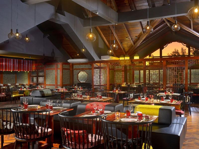 Spécialitées cantonaises au restaurant Ming Court du Sofitel