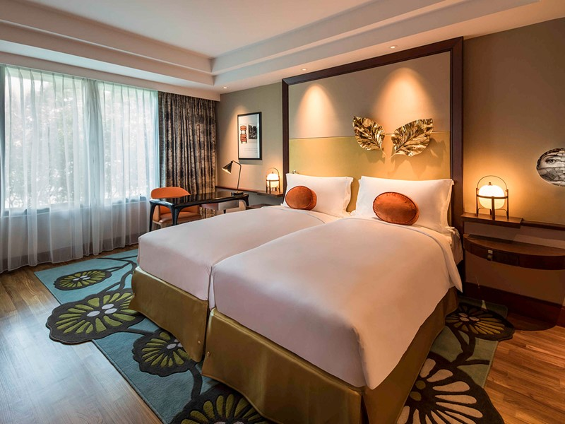 Luxury Garden Room du Sofitel Singapore Sentosa