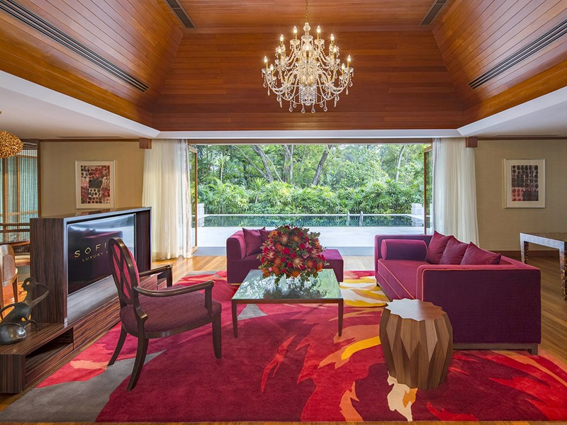 Villa Du Jardin de l'hôtel Sofitel Singapore Sentosa