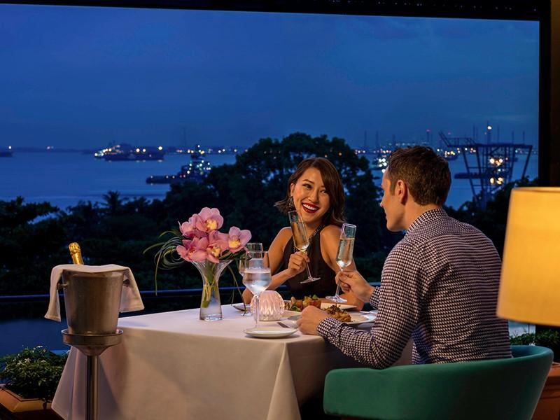 Profitez d'un dîner romantique au Sofitel Singapore Sentosa