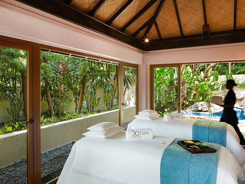 Le spa de l'hôtel 5 étoiles Sofitel Singapore Sentosa