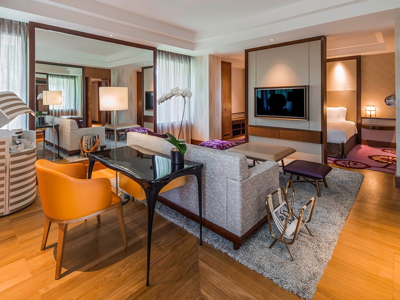 Junior Suite de l'hôtel Sofitel Singapore Sentosa