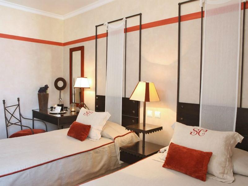 Des chambres simples et agréables