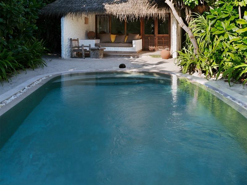 Deluxe Soneva Fushi Villa Suite with Pool aux Maldives