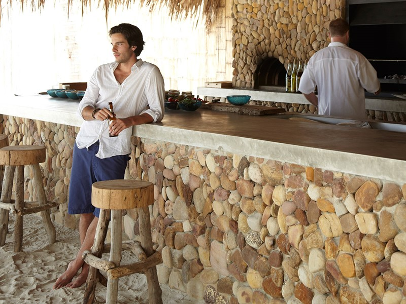 Le bar Driftwood du Song Saa Private Island situé au Cambodge