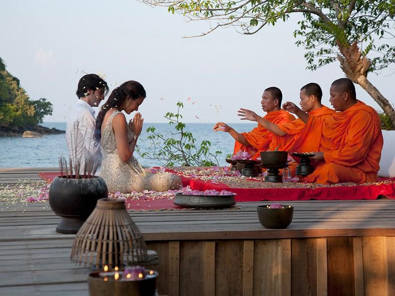 Mariage à l'hôtel Song Saa Private Island situé au Cambodge
