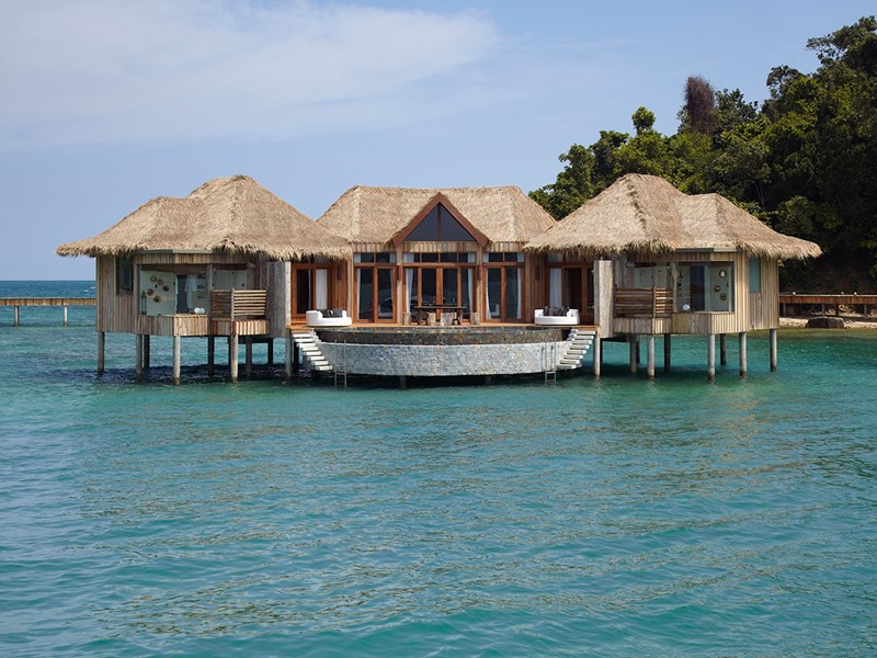 Overwater villa 2 bedrooms de l'hôtel Song Saa Private Island