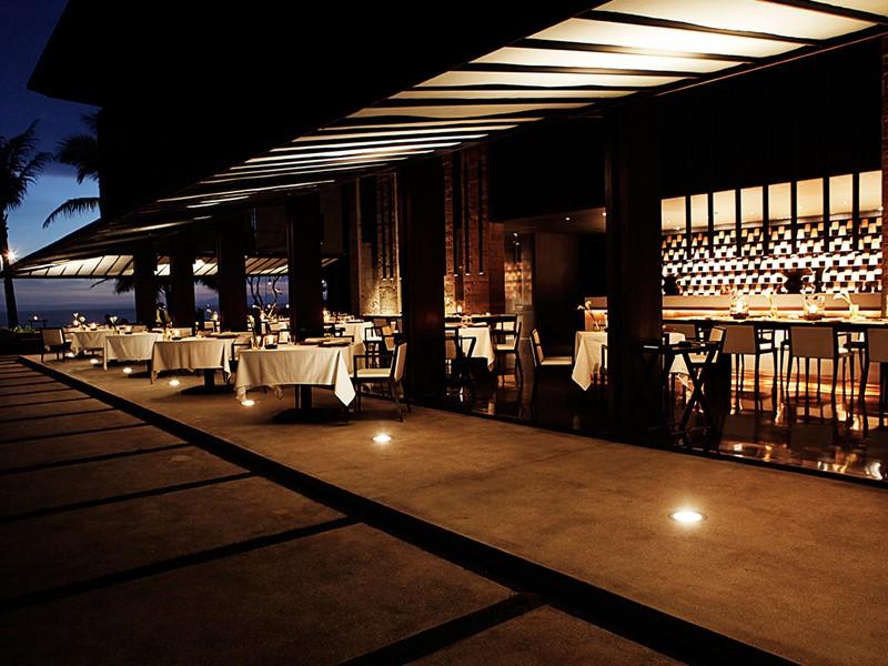 Restaurant Cotta de l'hôtel Soori Bali