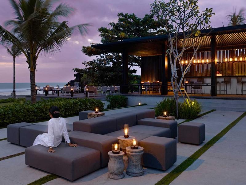 Ombak Restaurant de l'hôtel Soori à Bali