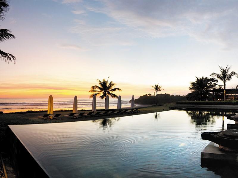 La piscine de l'hôtel Soori à Bali