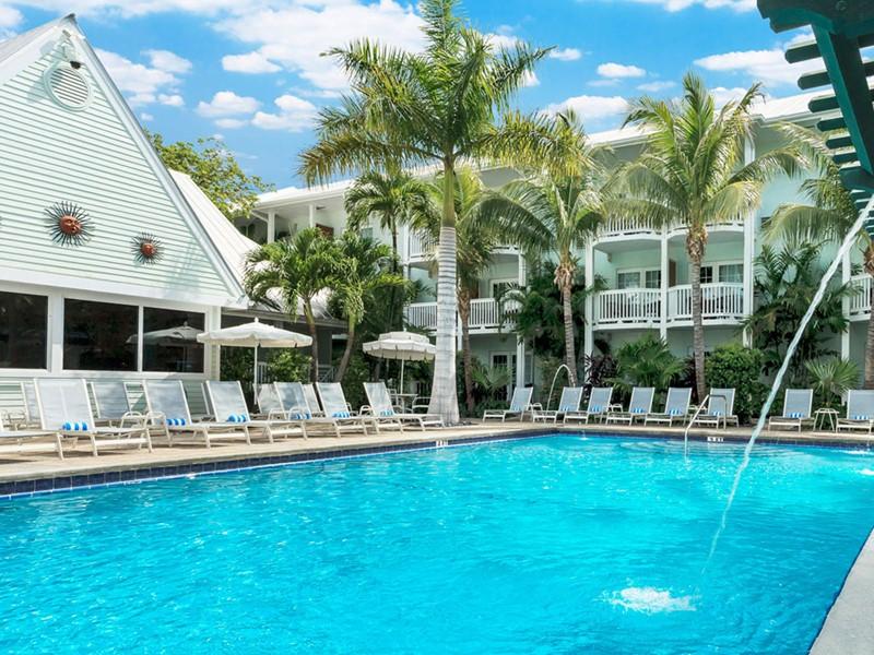 Profitez de la splendide piscine de l'hôtel Southernmost.