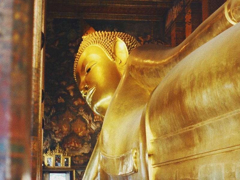 Wat Pho, célèbre pour son Bouddha couché