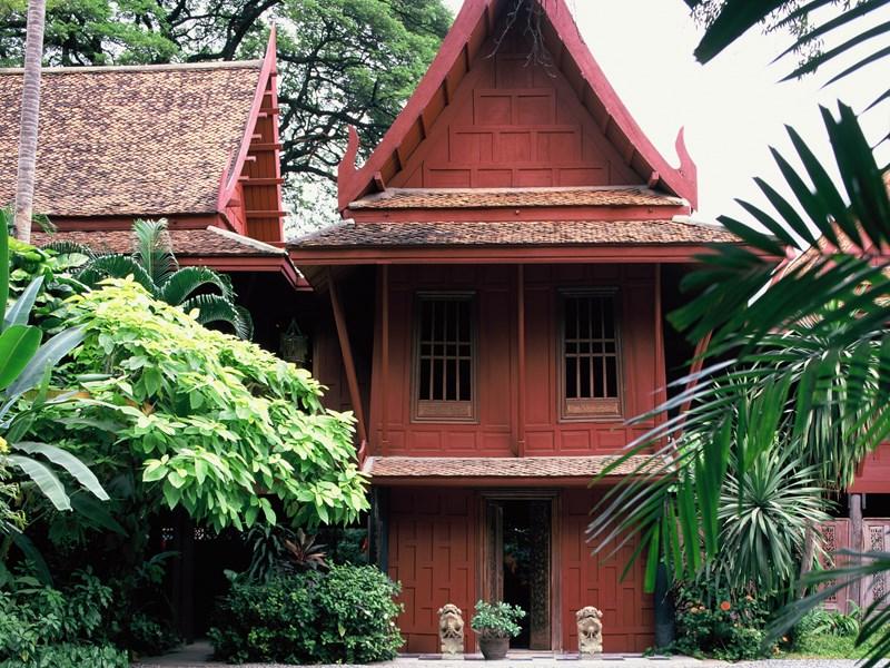 La maison de Jim Thompson, l'écrivain et aventurier américain