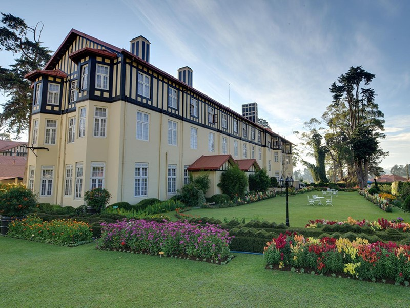 Vue de l'hôtel The Grand Hotel à Nuwara Eliya