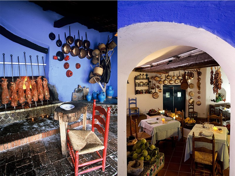 Le restaurant traditionnel du Su Gologone