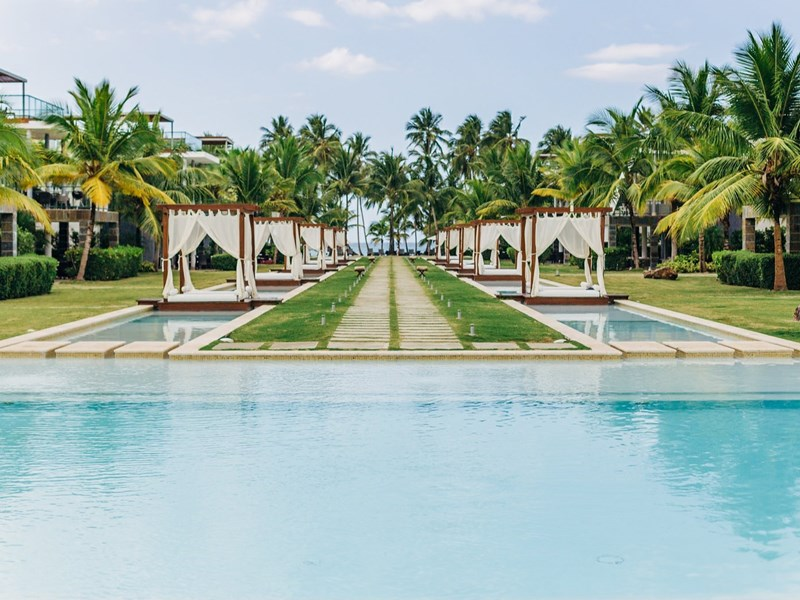 La piscine du Sublime Samana Hotel