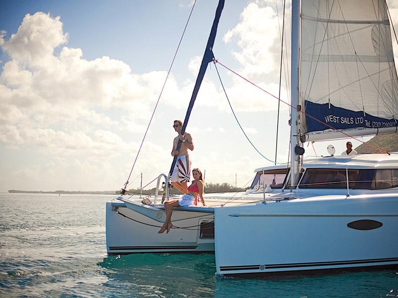 Croisière en catamaran
