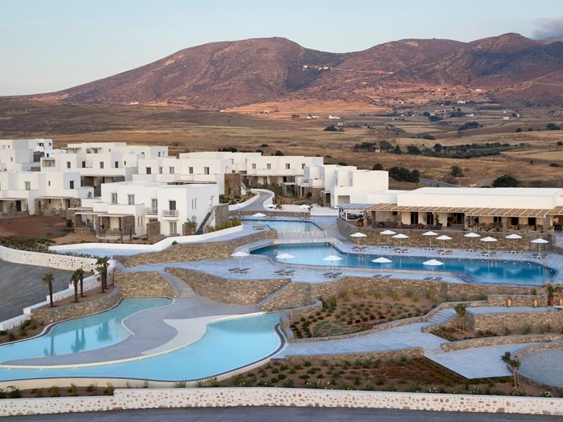 Vue générale sur le Summer Senses à Paros
