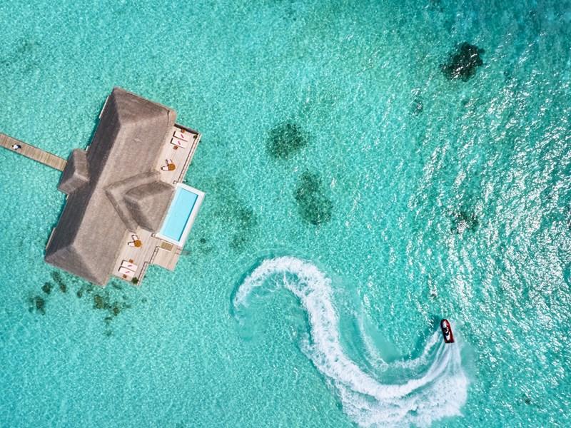 Vue de la superbe King Ocean Suite