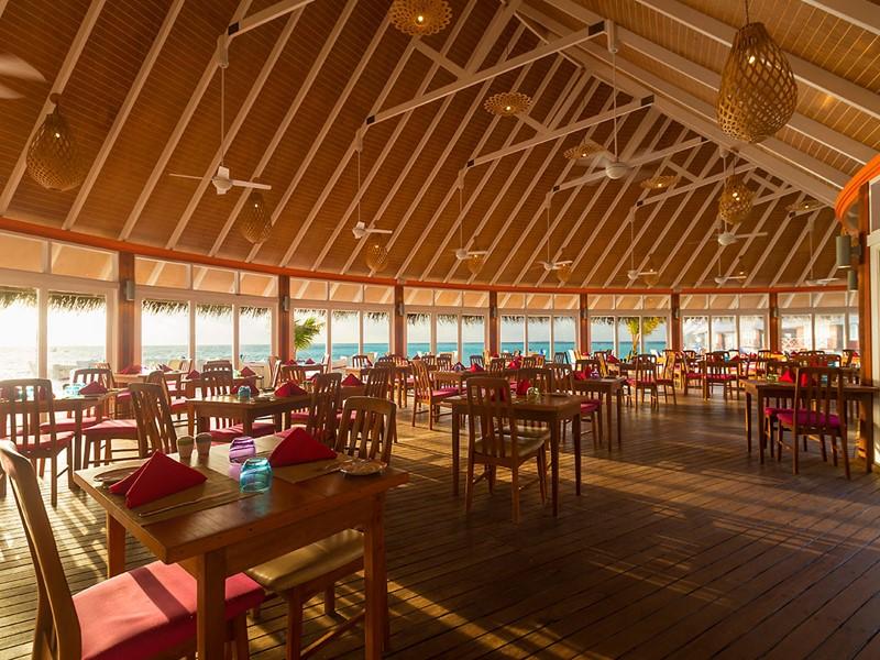 Le restaurant Aqua