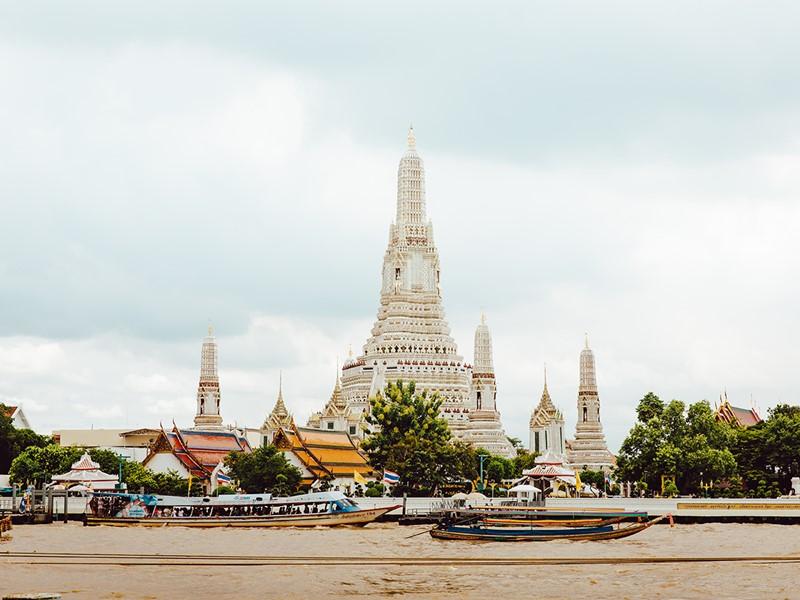 Le Wat Arun, un magnifique Temple bouddhiste