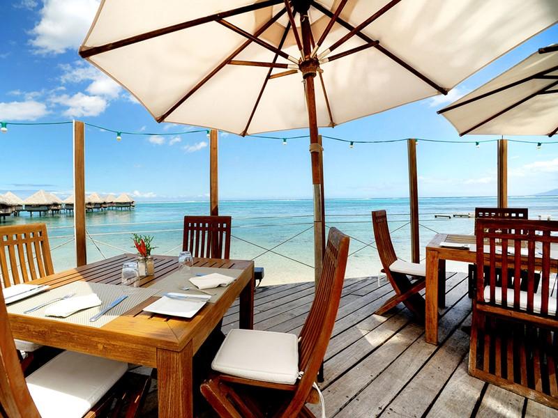 Somptueux repas face à l'océan au restaurant Le Carré