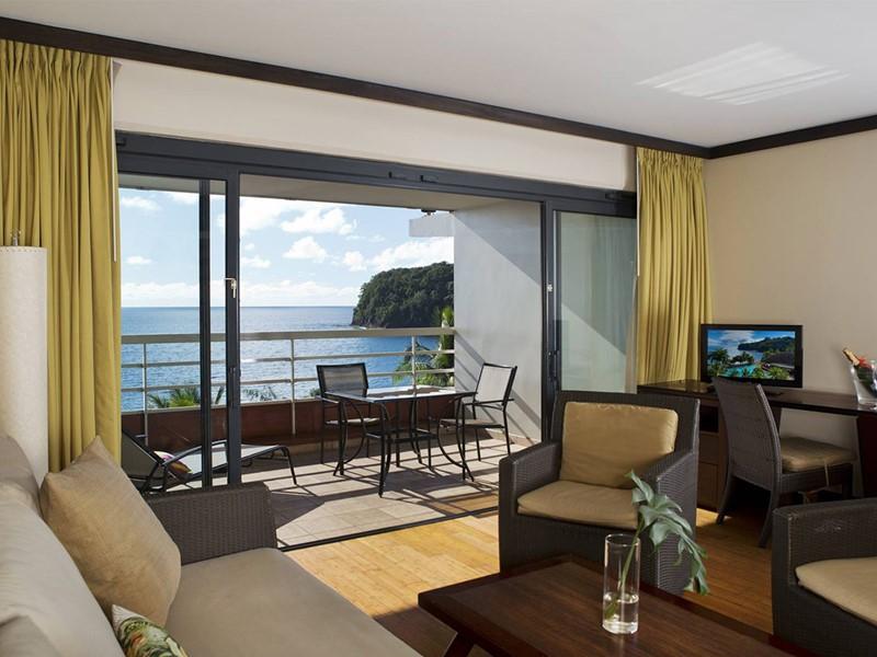 Ocean View Suite de l'hôtel Tahiti Pearl en Polynésie