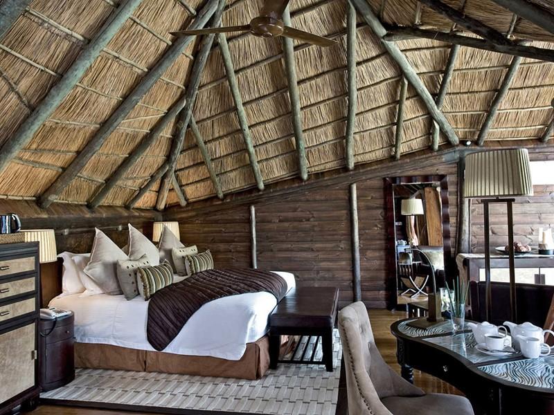 Les chambres du Serena Mivumo River Lodge