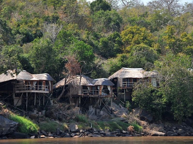 Profitez d'un cadre extraordinaire au Serena Mivumo River Lodge