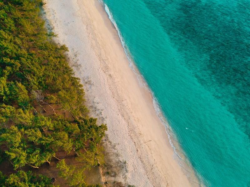 Profitez de la belle plage