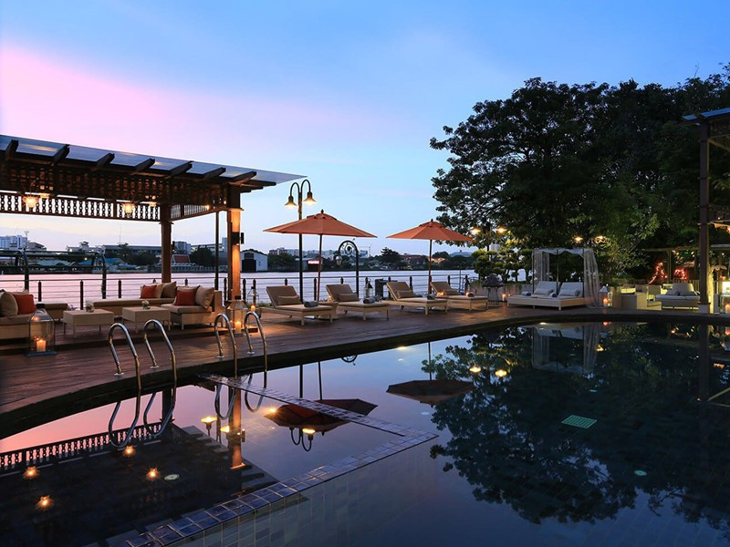 Hôtel Riva Surya, piscine