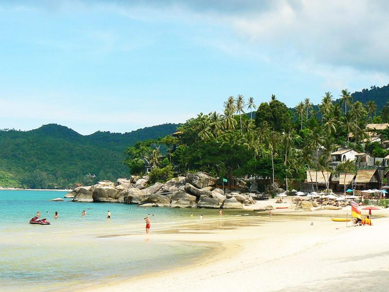 Koh Phangan, plage de sable fin
