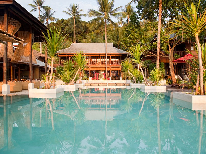 Hôtel Anantara Rosananda, la piscine de l'hôtel
