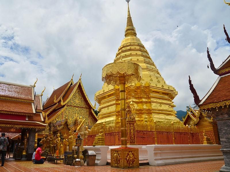 Visite du temple de Doi Suthep de Chiang Mai