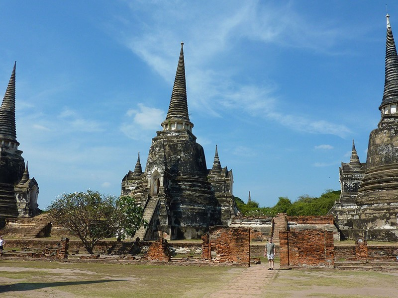 Visite du Wat Phra Si Sanphet d'Ayutthaya