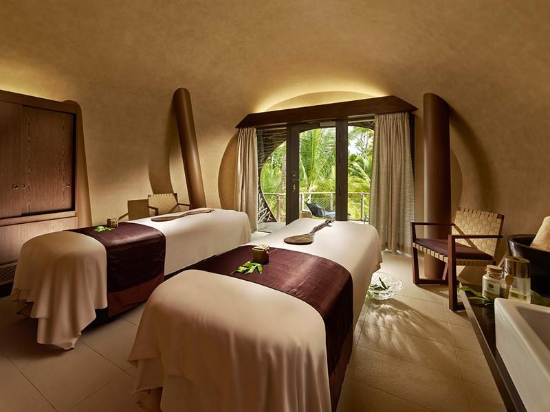 Le spa de l'hôtel 5 étoiles The Brando en Polynésie