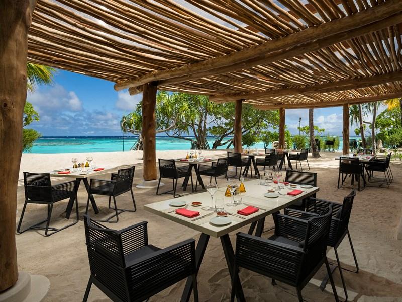 Le restaurant Beachcomber Café