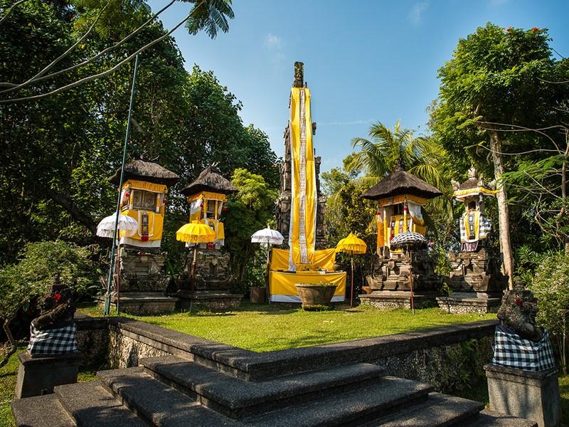 Le temple de l'hôtel