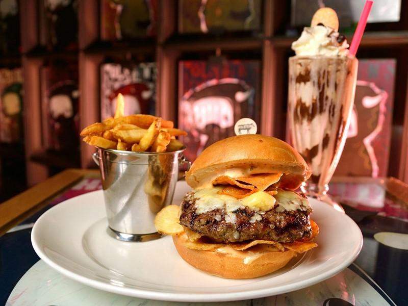 Spécialités du restaurant Holsteins du Cosmopolitan of Las Vegas